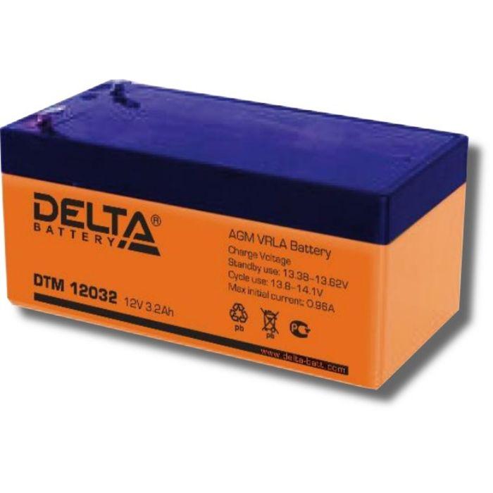 Аккумуляторная батарея Delta DTM12032, 12 В, 3.2 А/ч