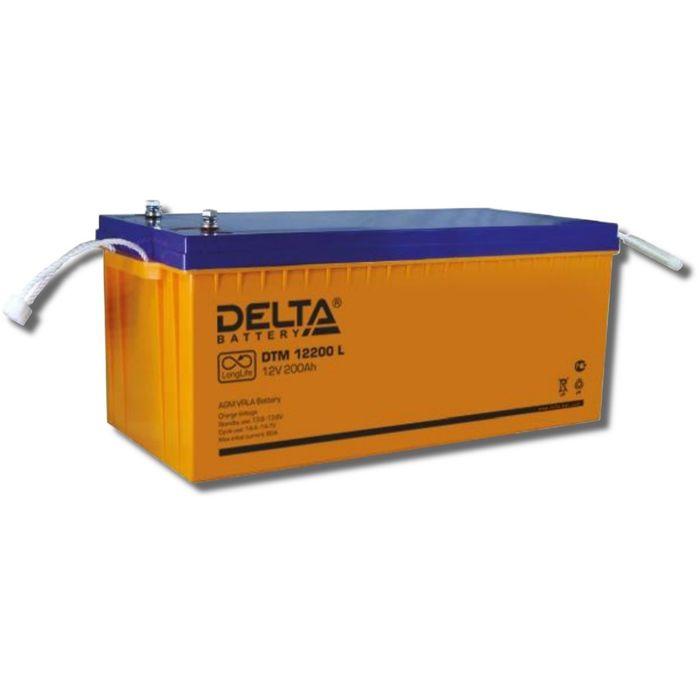 Аккумуляторная батарея Delta DTM12200 L, 12 В, 200 А/ч
