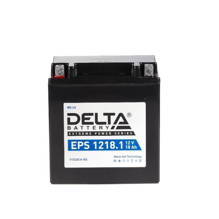 Аккумуляторная батарея Delta EPS 1218.1(YTX20СH-BS)12V, 20 Ач прямая(+ -)