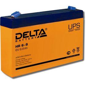 Аккумуляторная батарея Delta HR6-9, 6 В, 8.8 А/ч Ош