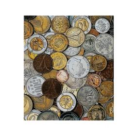 Альбом для монет на кольцах, Оптима, 225 х 265 мм, обложка ламинированный картон Ош
