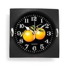 """Часы настенные, серия: Кухня, """"Клубника"""", 15х15 см"""