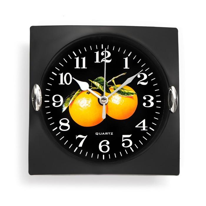 Часы настенные, серия Кухня, Клубника, 15х15 см