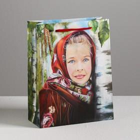 Пакет ламинированный вертикальный «Светлая радость», MS 18 × 23 × 8 см Ош