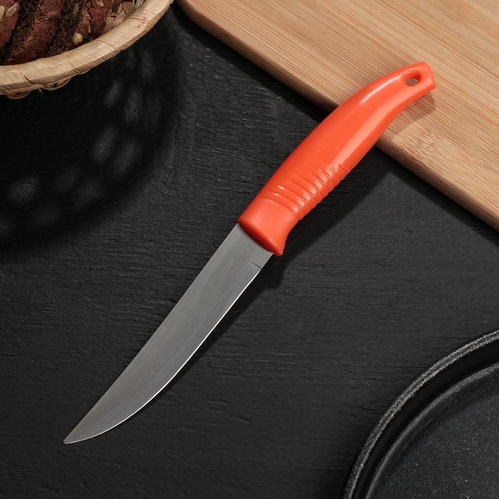 Нож кухонный «Ланфорд», лезвие 11 см, цвет МИКС