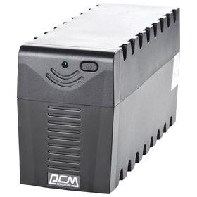 Источник бесперебойного питания Powercom Raptor RPT-600A EURO, 360 Вт, 600 ВА, черный Ош