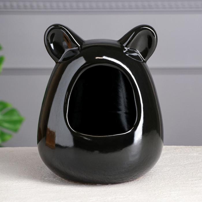 Ванна для шиншилл, цвет черный