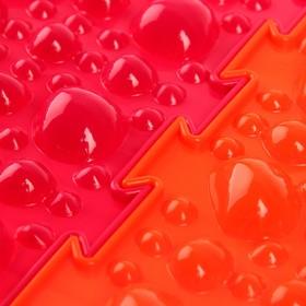 Массажный коврик 1 модуль «Орто. Камни жёсткие», цвета МИКС Ош