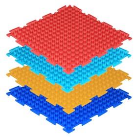Массажный коврик 1 модуль «Орто. Шипы», цвета МИКС Ош