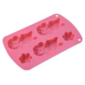 Форма для выпечки «Котята», размер 21х13х2 см
