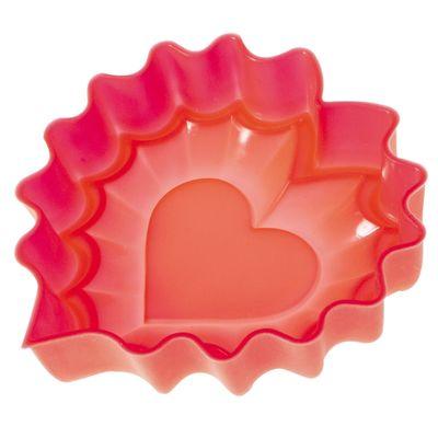 Форма для выпечки «Валентинка», размер 25,5х24х3,5 см - Фото 1