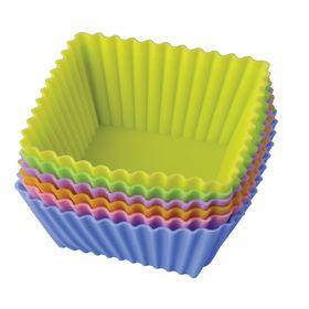 Набор форм для выпечки «Тарталетки квадратные», размер 7х3,5 см