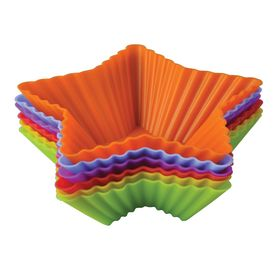 Набор форм для выпечки «Тарталетки-звезды», размер 10х3,5 см
