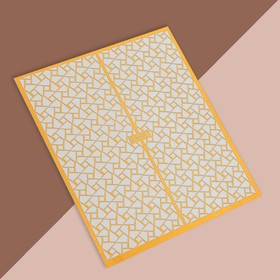 Трафарет для декора «Витраж», цвет золотой Ош