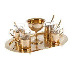 Набор чайный  подарочный 'С гербом РФ' Ош