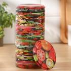 Крышка для консервирования «Элит», СКО-82 мм, лакированная, упаковка 50 шт, цвет МИКС - Фото 2
