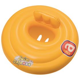 Круг для плавания Swim Safe, ступень «А», с сиденьем и спинкой, d=69 см, от 0-1 года, 32096 Bestway Ош