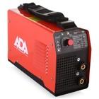 Сварочный инвертор IronWeld 180 ADA, кейс, 10-180А, 2-4мм, ПВ 60%, 220В, 5.3кВт