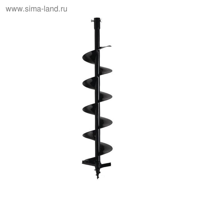 Шнек для бензобура ADA Drill 100, 800 мм, d=100 мм, посадочный d=20 мм