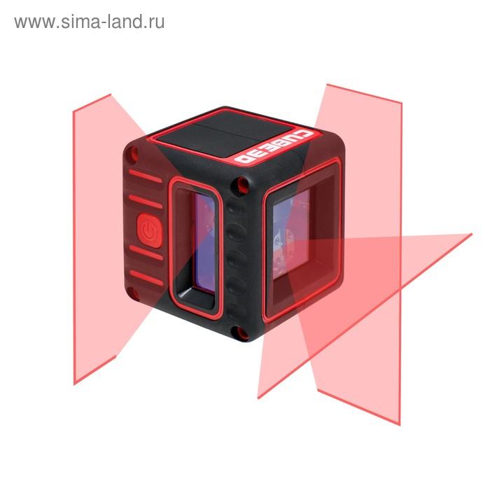 Нивелир лазерный ADA 3D Cube Basic Edition А00382, 20 м,  ±2 мм/10 м, ±3°, 3 линии