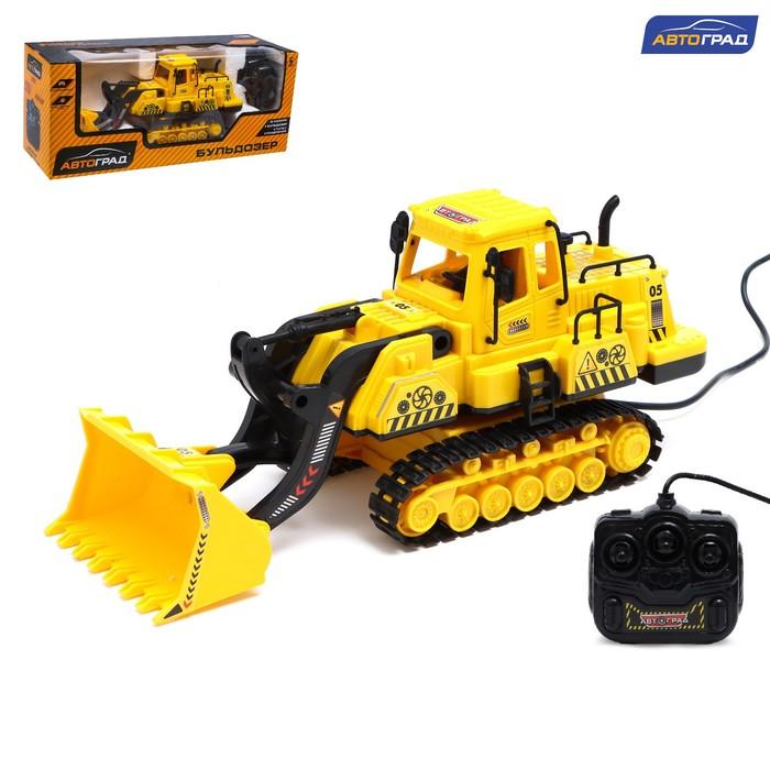 """Трактор на дистанционном управлении """"Погрузчик"""", работает от батареек"""