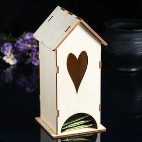 """Чайный домик """"Вытянутое сердце"""""""