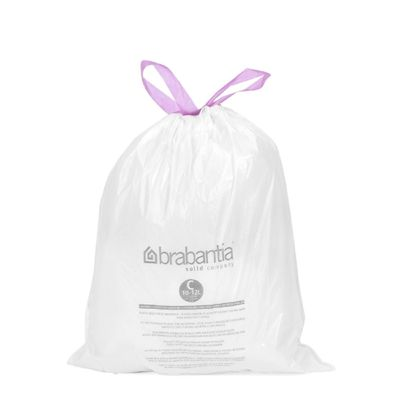 Пакет пластиковый, объёмы 10/12 л, 20 шт.