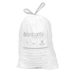 Пакет пластиковый, объёмы 40/50 л, 10 шт.