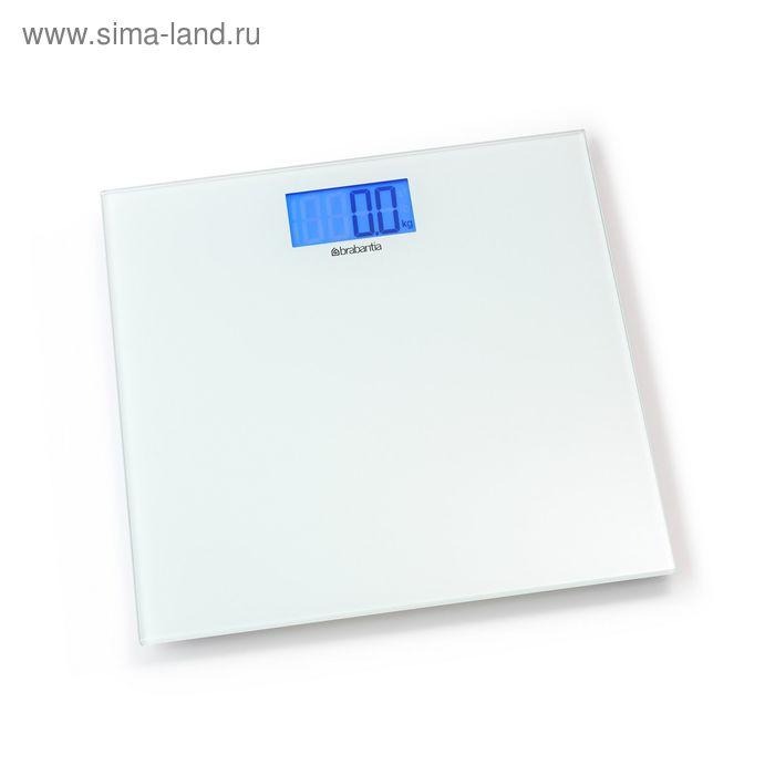 Весы для ванной комнаты Brabantia, напольные, электронные, цвет белый