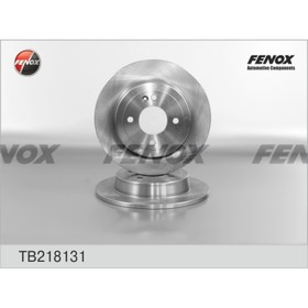 Диск тормозной Fenox TB218131, задний, Hyundai / Kia Ош