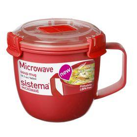 Кружка суповая Sistema Microwave, 565 мл