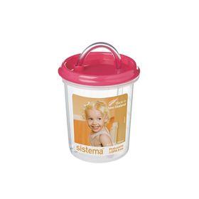 Детская чашка с трубочкой Sistema, 250 мл, цвет МИКС