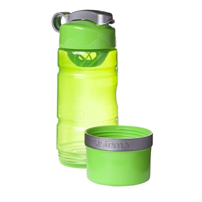 Спортивная питьевая бутылка Sistema, 615 мл