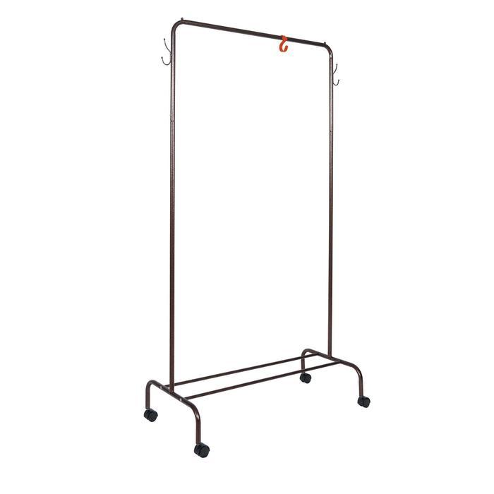 Вешалка гардеробная «Радуга», 89,2×39×154 см, цвет медный антик