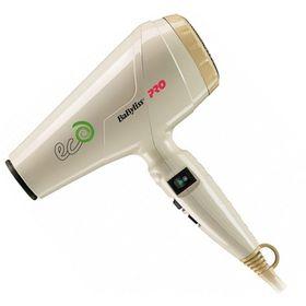 Фен BaByliss Pro ECO BAB6170E, 1800 Вт, 2 скорости, 2 темп. режима, 1 насадка, бежевый