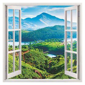 Фотообои К-115 «Вид из окна» (4 листа), 140 × 140 см Ош