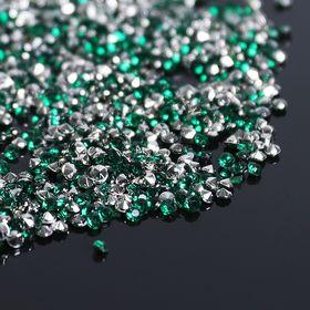 Стразы (набор 10грамм), 2мм, цвет тёмно-зеленый №16