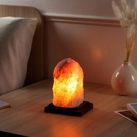 Соляная лампа 'Зарница', 16 см, 1-2 кг Ош