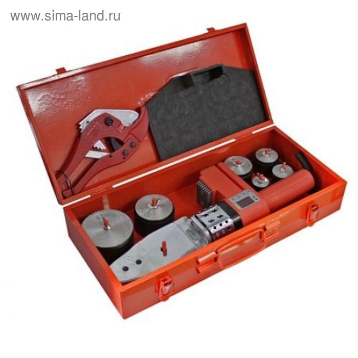 Аппарат для сварки пластиковых труб RedVerg RD-PW1000D-63, 220В/50Гц; 1кВт; t 50-300град.