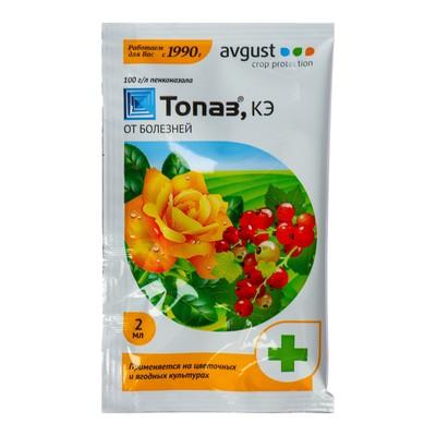 Средство от болезней растений Топаз ампула в пак. 2 мл - Фото 1