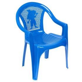 Кресло детское, 380х350х535 мм, цвет синий Ош