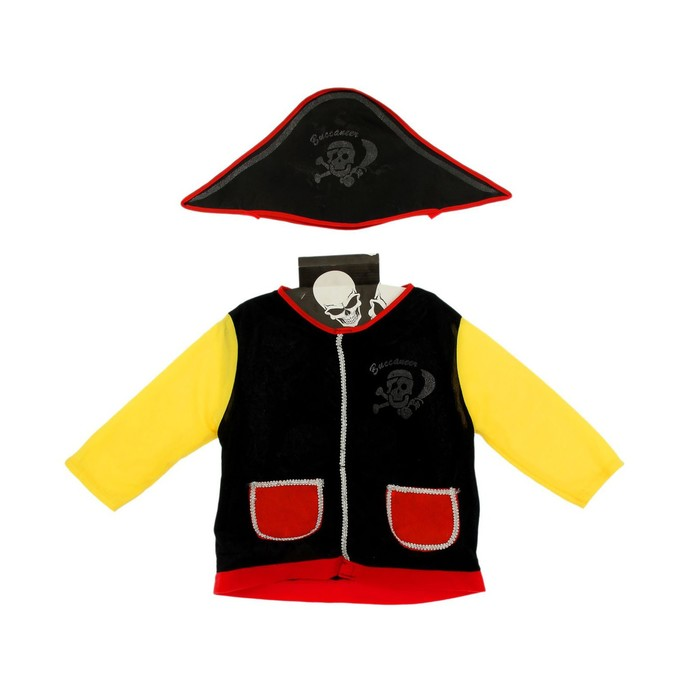 Набор пирата жилет, шляпа