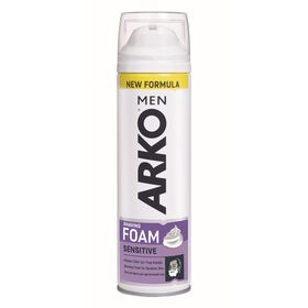 Пена для бритья Arko Men Sensitive, 200 мл
