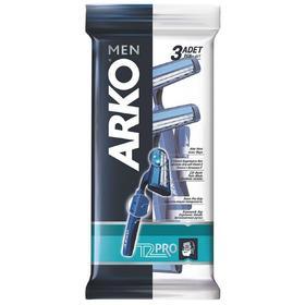 Станок одноразовый Arko Men T2 PRO, с 2 лезвиями, 3 шт.