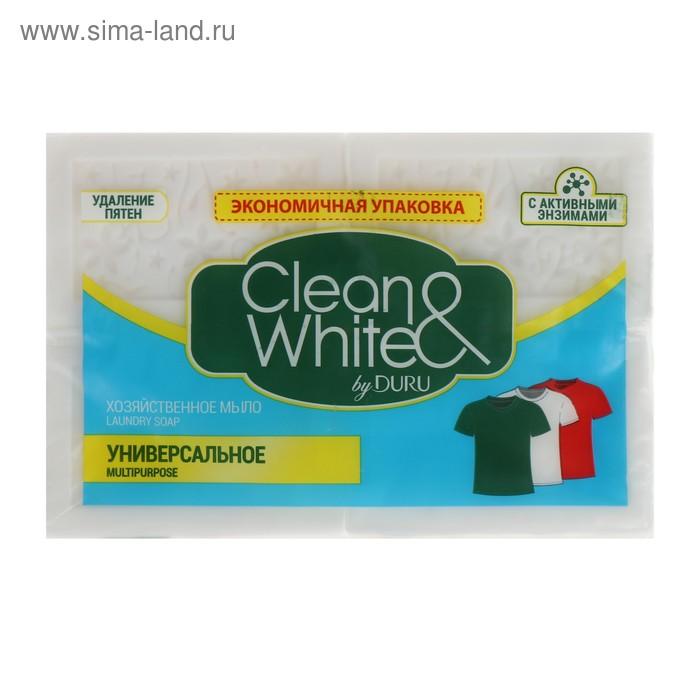 Хозяйственное мыло DURU, универсальное, 4 шт по 125 г