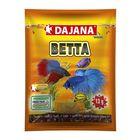 Корм Dajana Pet Betta flakes для всех видов тропических рыб, хлопья, 80 мл., 13 г.