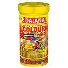 Корм Dajana Pet Color flakes для рыб, для окраса, хлопья, 250 мл.