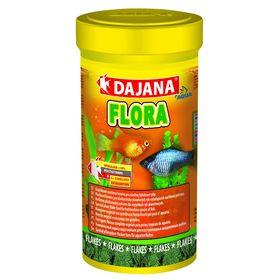 Корм Dajana Pet Flora flakes для всех видов декоративных рыб, хлопья, 100 мл.