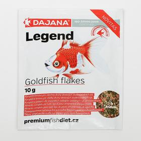 Корм Dajana Pet Gold flakes  для золотых рыб, хлопья, 80 мл., 10 г.