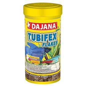 Корм Dajana Pet Tubifex flakes для всех видов декоративных рыб, 250 мл.